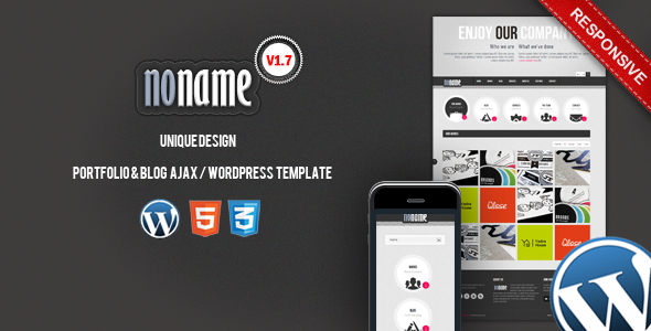 ThemeForest AGT Noname Ajax Wordpress Template 1831099