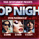Pop Night Flyer - GraphicRiver Item for Sale
