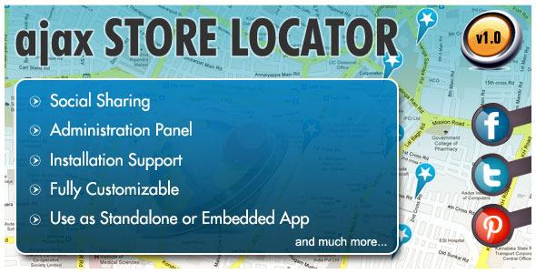 CodeCanyon AJAX Store Locator 3448408