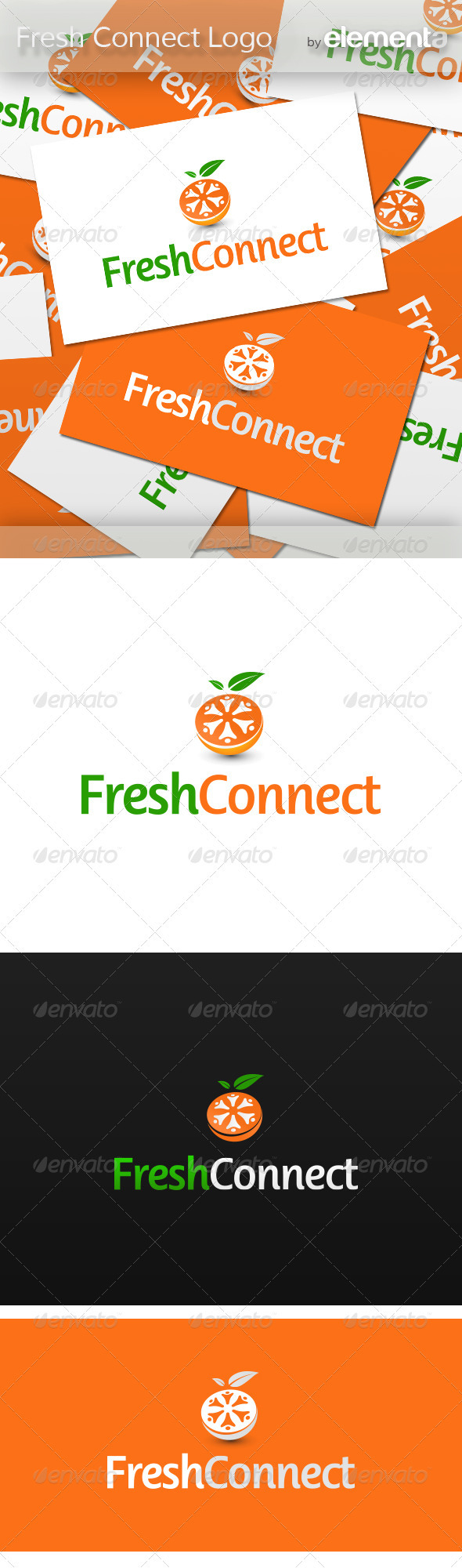 GraphicRiver Fresh Connect Logo 3540583