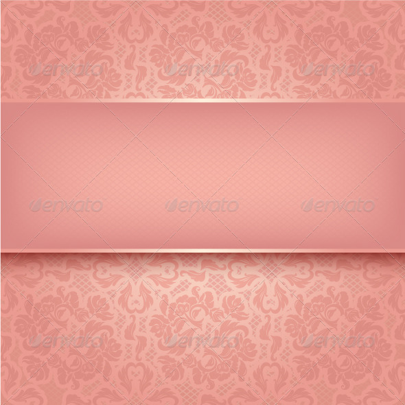 GraphicRiver Decorative Pink Ornament 3594264