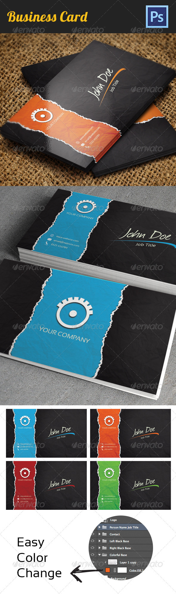 GraphicRiver Business Card 3595306