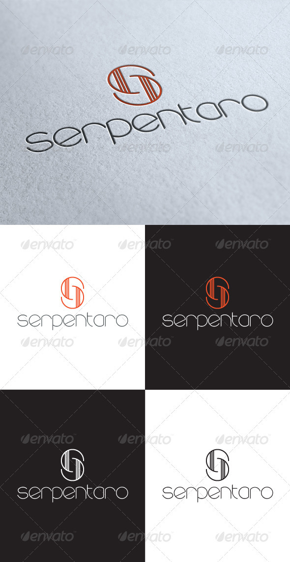 GraphicRiver Serpentaro S Letter Logo 3549320