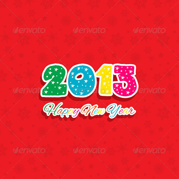 GraphicRiver New Year Background 3595362