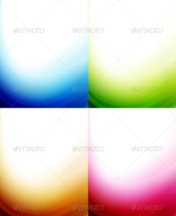 GraphicRiver Wave Color Backgrounds 3595401