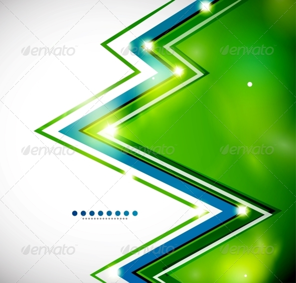 GraphicRiver Zig-Zag Bright Background with Lights 3595799