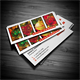 Slim Photography Business Card - GraphicRiver Item for Sale