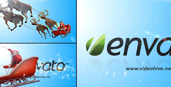 VideoHive Santa Claus Logo Reveal 3576045
