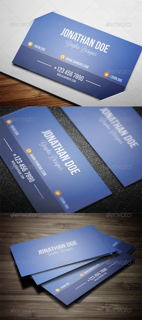 GraphicRiver Personal Business Card 3596002