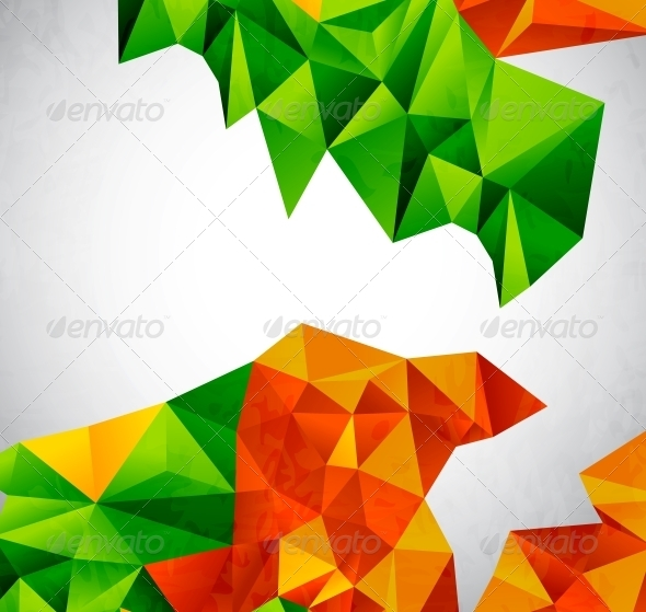 GraphicRiver Vector Colorful Geometrical Shapes 3596227