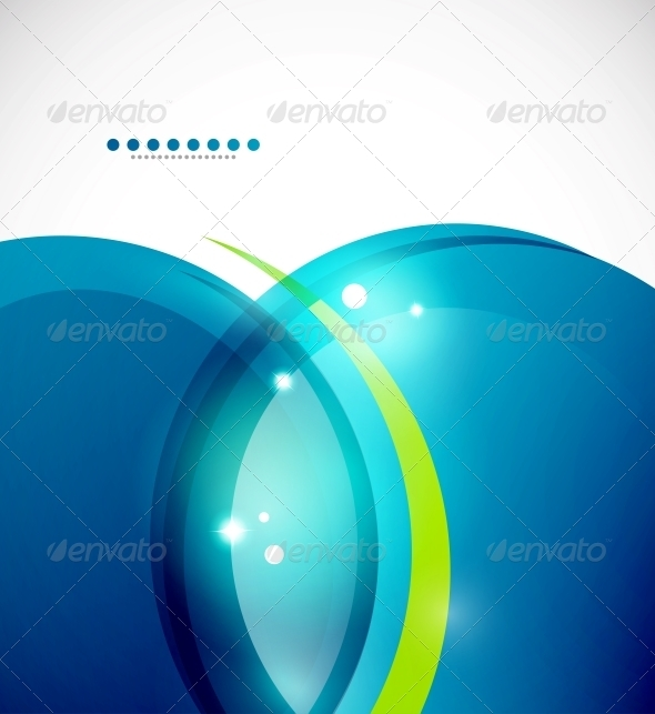 GraphicRiver Detailed Blue Wavy Vector Abstract Background 3596530