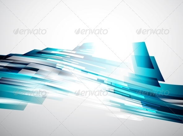 GraphicRiver Flowing Lines Vector Background 3596621