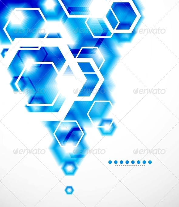 GraphicRiver Abstract Blurred Geometrical Background 3596764