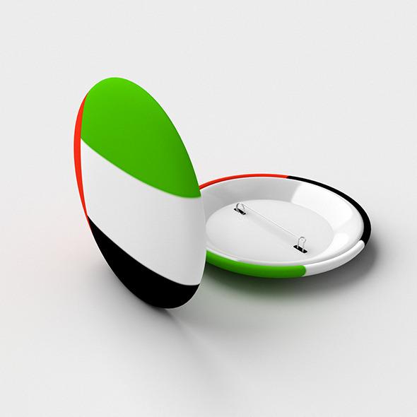 3DOcean Pin Button 3597067