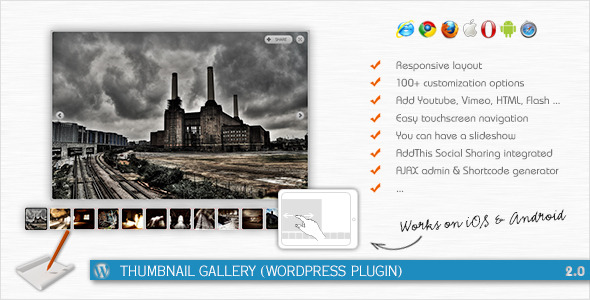 CodeCanyon Thumbnail Gallery WordPress Plugin 294024