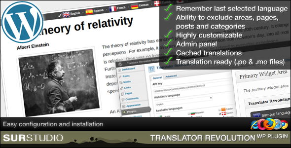CodeCanyon Ajax Translator Revolution WordPress Plugin 1108823