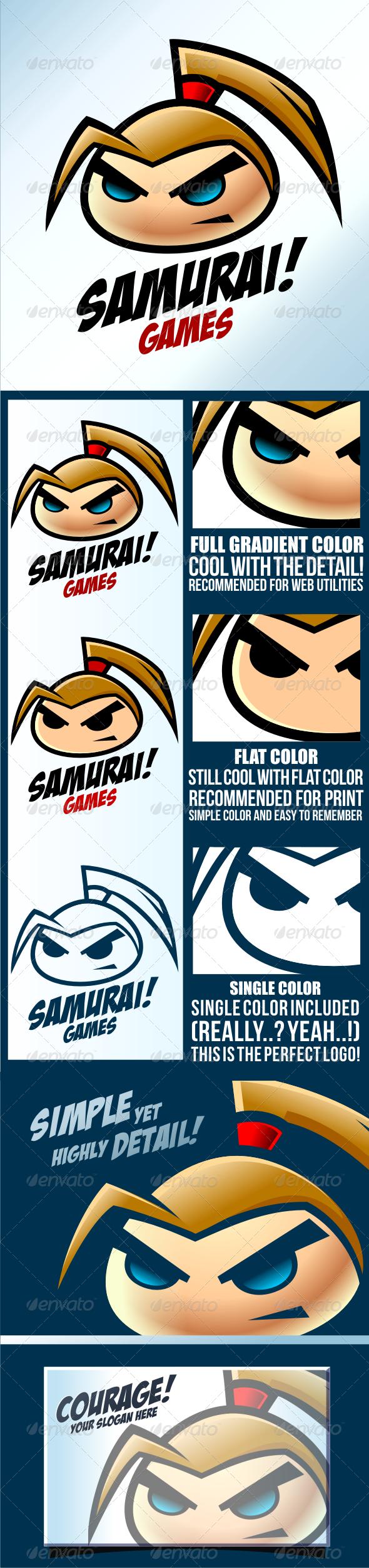 GraphicRiver Samurai Game 3559312