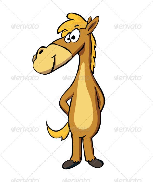 GraphicRiver Horse 3597886