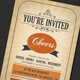 Vintage Invitation Card - GraphicRiver Item for Sale