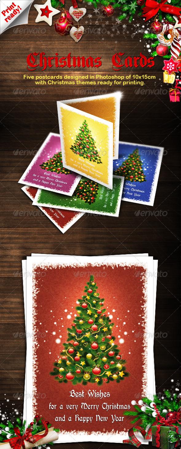 GraphicRiver Christmas Cards 3557102