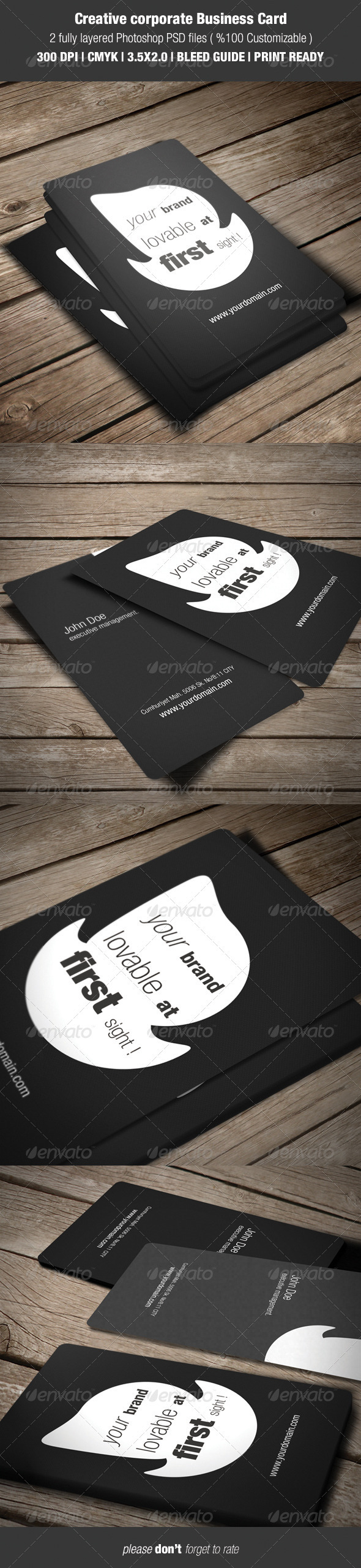 GraphicRiver Creative Corporate Business Card 3598466