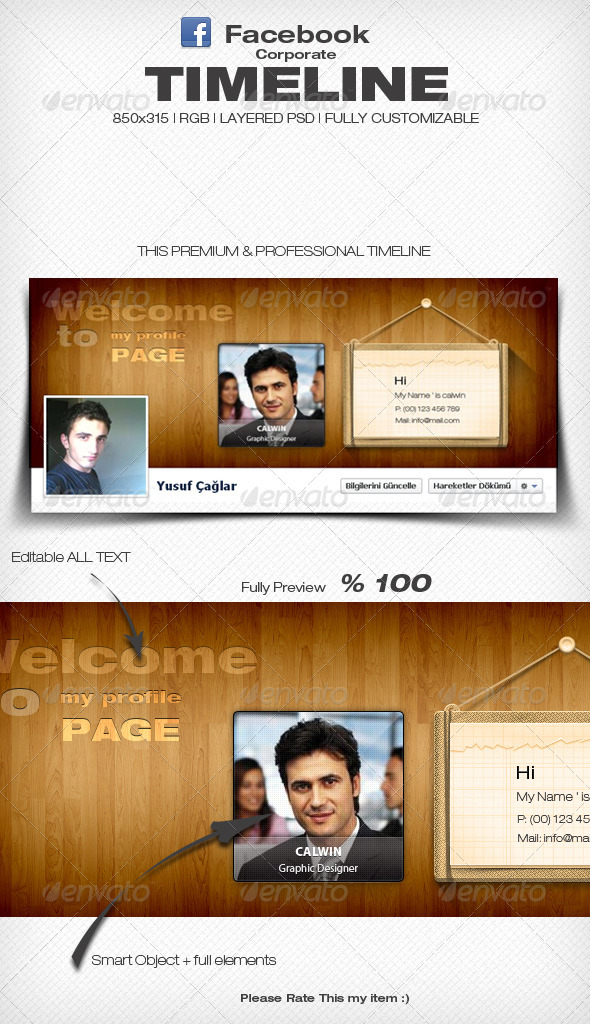 GraphicRiver Creative Fb Timeline Cover 3598471