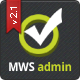 MWS Admin - Full Featured Admin Template - ThemeForest Item for Sale