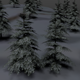 Winter Trees Pack Low Poly - 3DOcean Item for Sale