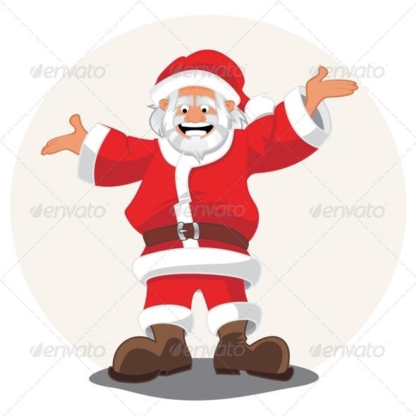 GraphicRiver Santa Claus 3599072