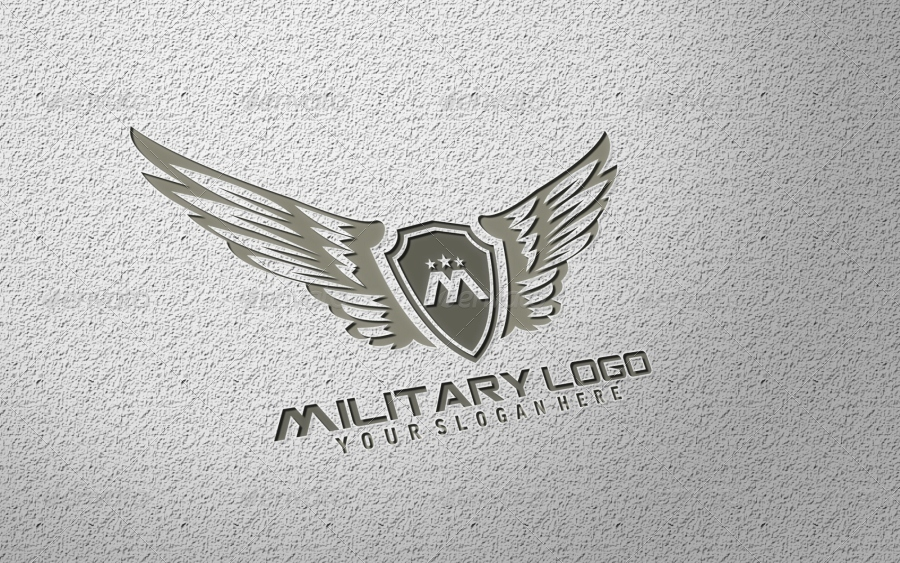 Military Logo Template - GraphicRiver Previewer: graphicriver.net/theme_previews/3599074-military-logo-template?url...