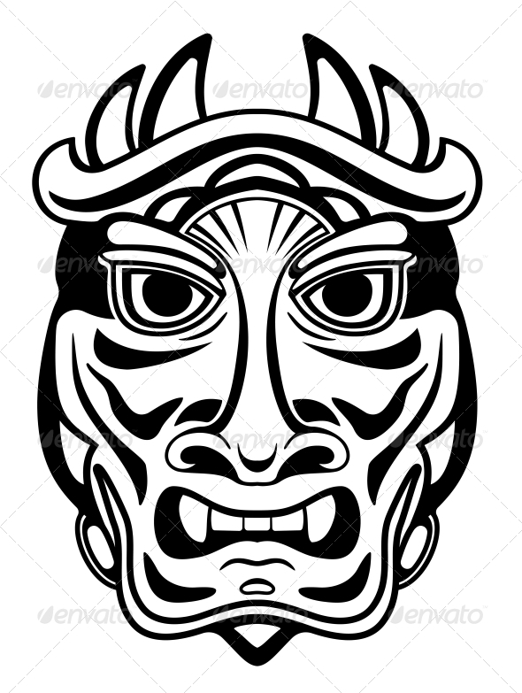 GraphicRiver Ancient Mask 3600447
