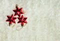 Christmas red stars on the white background - PhotoDune Item for Sale