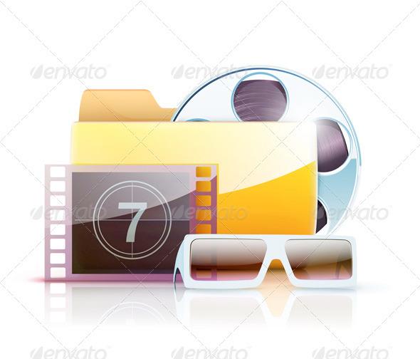 GraphicRiver Digital Video Folder 3600973