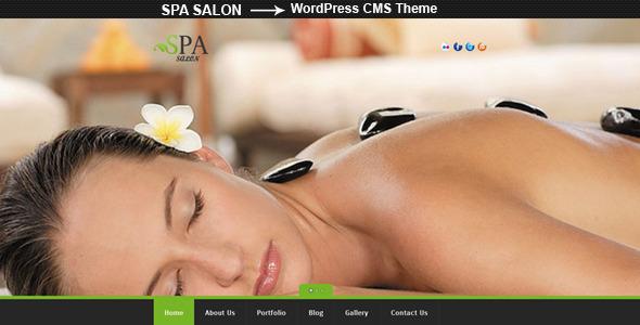 ThemeForest SPA SALON Creative WordPress CMS Theme 3600987