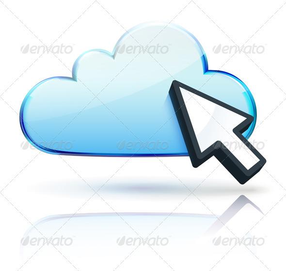 GraphicRiver Internet Cloud Icon 3601047