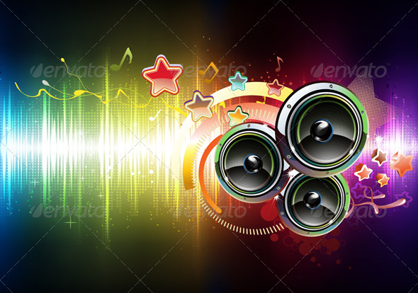 GraphicRiver Abstract Party Background 3601303