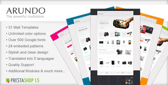 Arundo - Premium Prestashop Theme - Technology PrestaShop