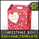 Christmas Sweet Gift Box Template - GraphicRiver Item for Sale