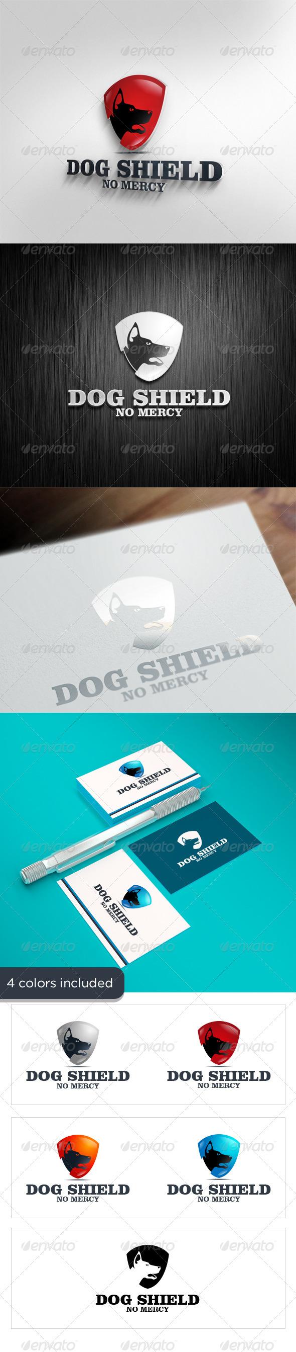 GraphicRiver Dog Shield 3601986