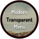 Modern Transparent Menu