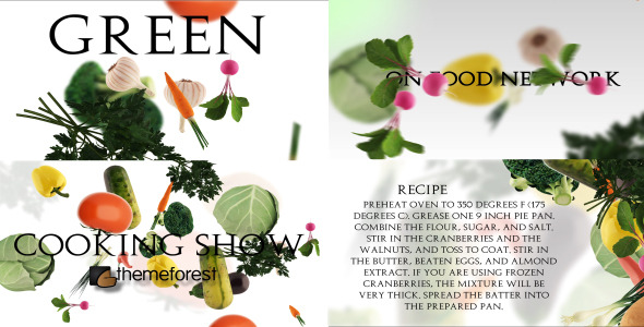 VideoHive Food Inc Vegetable edition 3605757
