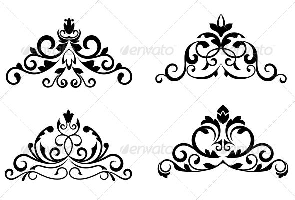 GraphicRiver Flower Patterns 3605761