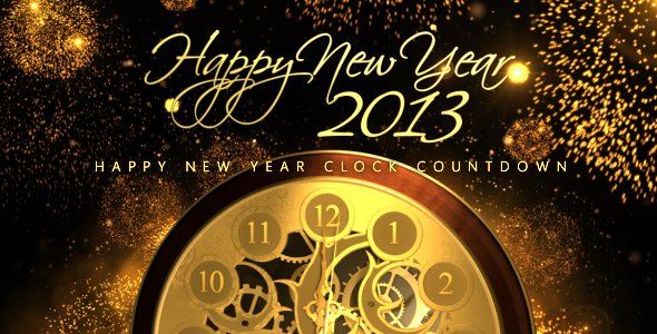 Happy New Year Countdown Clock