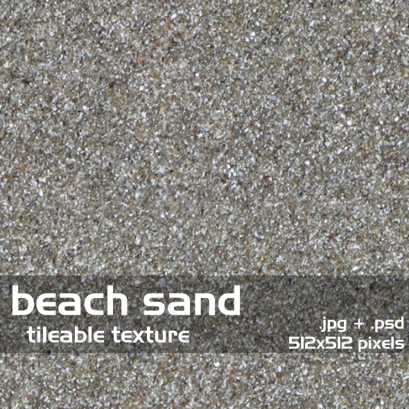 Beach Sand Tileable Texture - 3DOcean Item for Sale