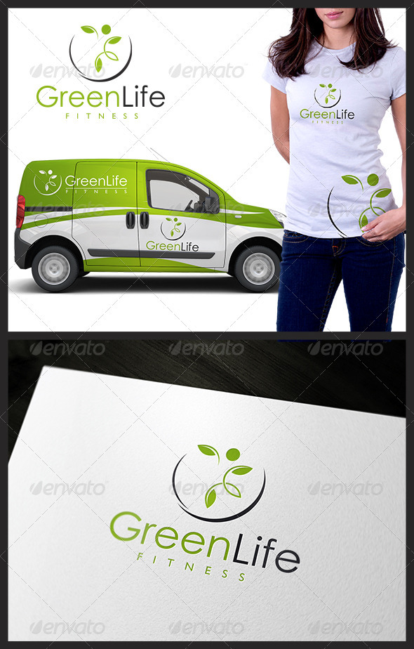 GraphicRiver Green Life Fitness 3606769