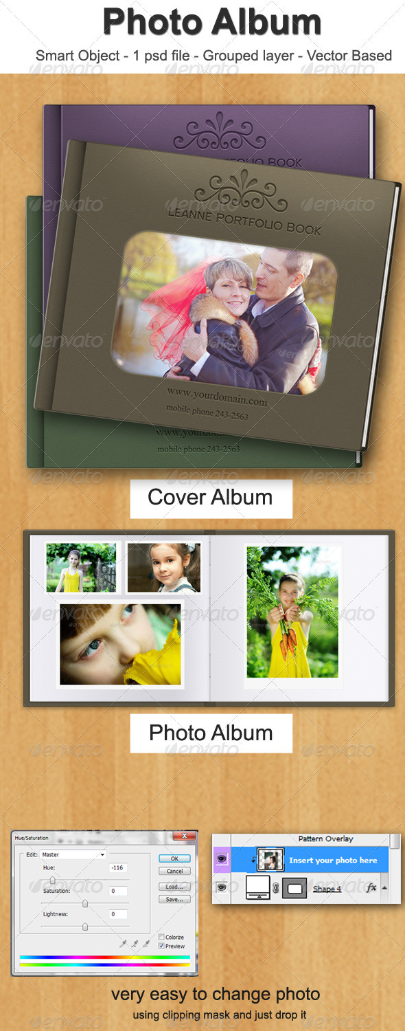 Photo Album - Photo Templates Graphics