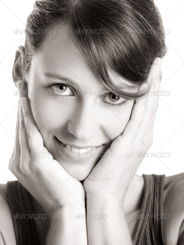 Cute face - Stock Photo - Images