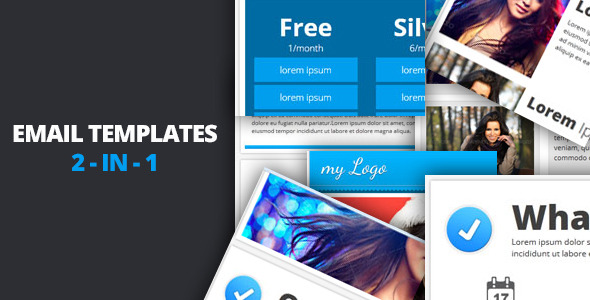 Email Templates 2-in-1