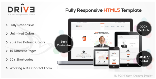 Drive - Responsive Corporate Template