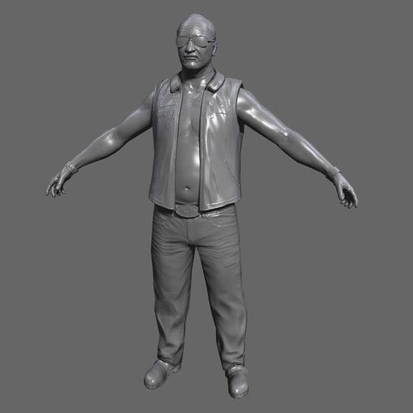 3DOcean Low Poly Male Character 3607638